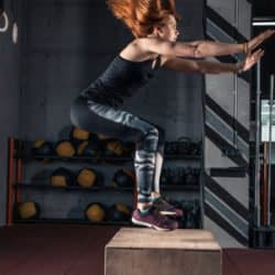 box jump - quadriceps