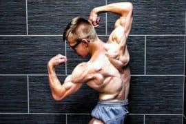 Bodybuilder de apenas 17 anos impressiona com shape rasgado