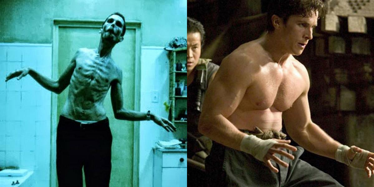 11 atores que sofreram mudanças impressionantes no shape