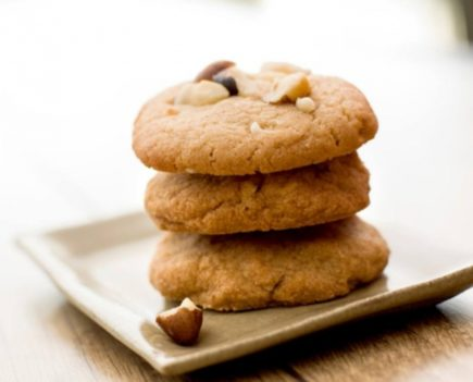 cookies de castanhas