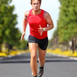 correndo, homem