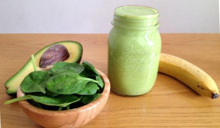 saúde, abacate, espinafre