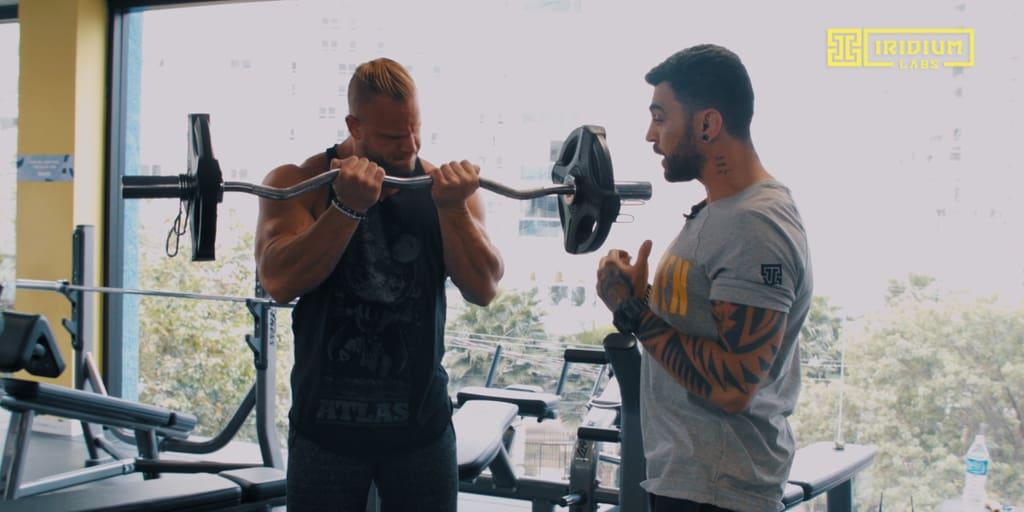 treino, braços