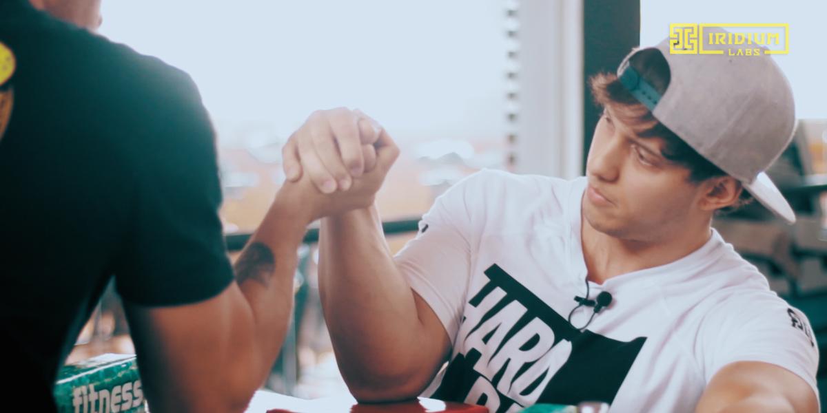 luta de braço