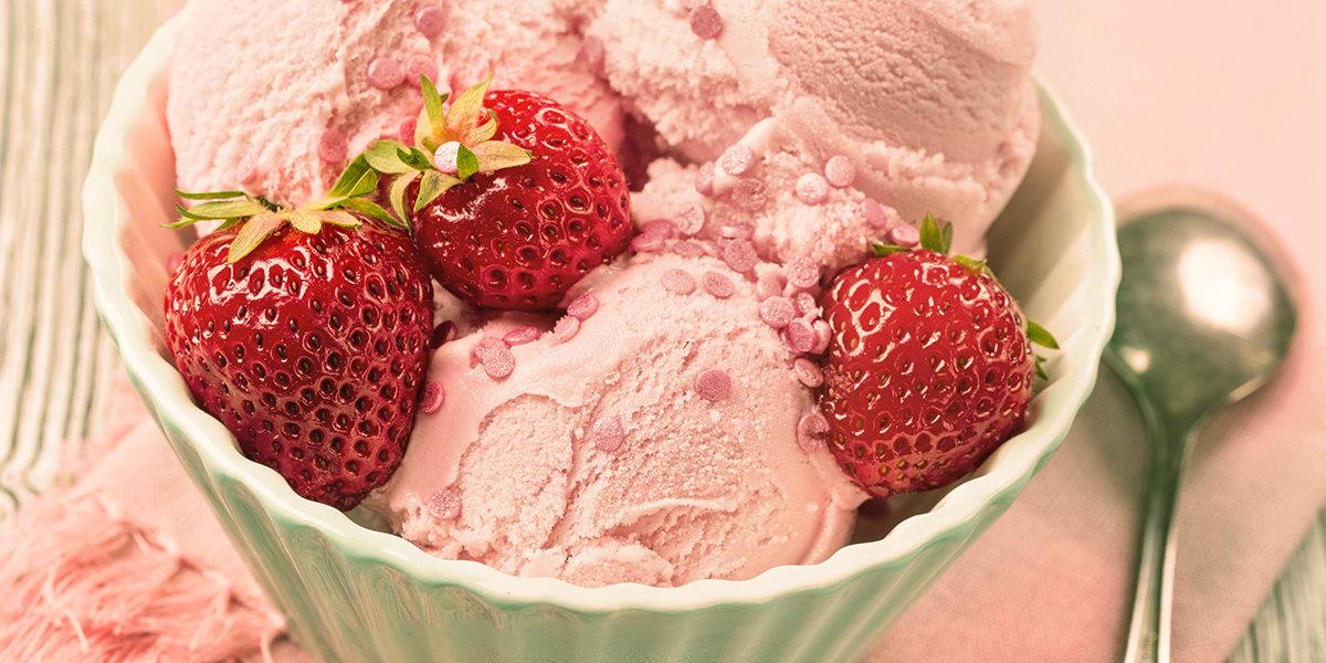 sorvete de morango, capa