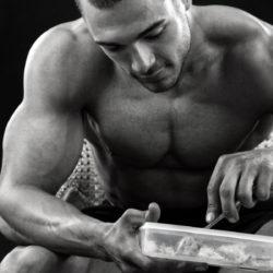 bodybuilder, pós-treino, alimentação