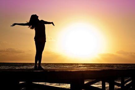 sol, mulher